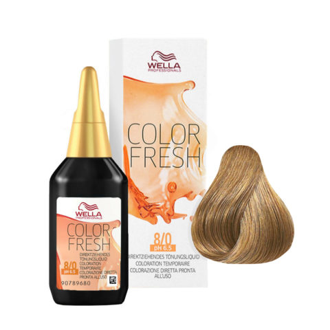 8/0 Hellblond Wella Color fresh 75ml