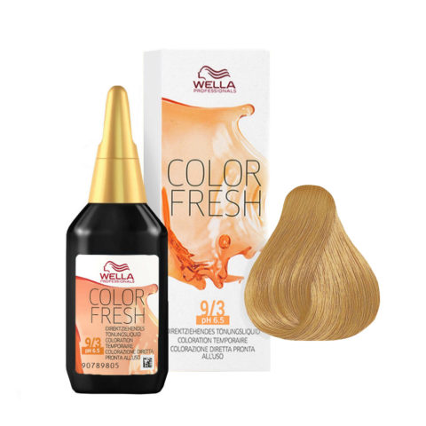 9/3 Hell-hellblond gold Wella Color fresh 75ml