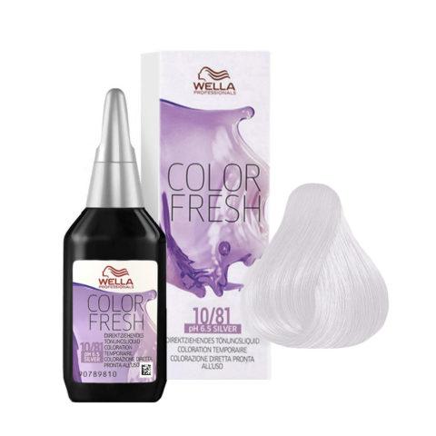 10/81 Hell-lichtblond perl-asch Wella Color fresh Silver 75ml