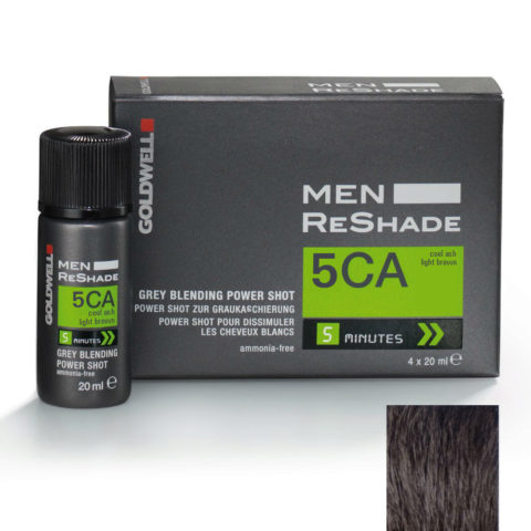 Goldwell Color men reshade 5CA cool hell-aschbraun CFM 4x20ml