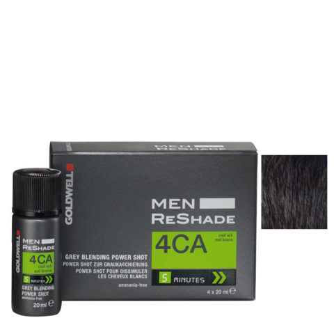 Goldwell Color men reshade 4CA cool-mittel aschbraun CFM 4x20ml