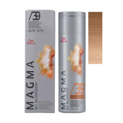 /39 plus Gold-cendre dunkel Wella Magma 120gr