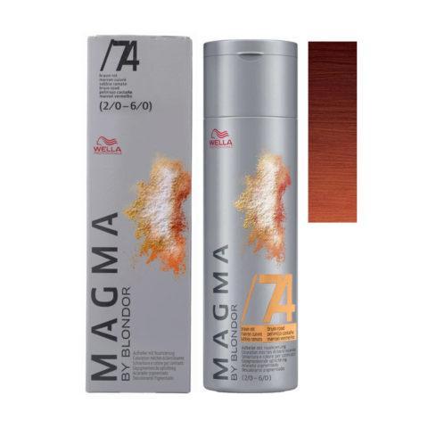 /74 Braun-rot Wella Magma 120gr