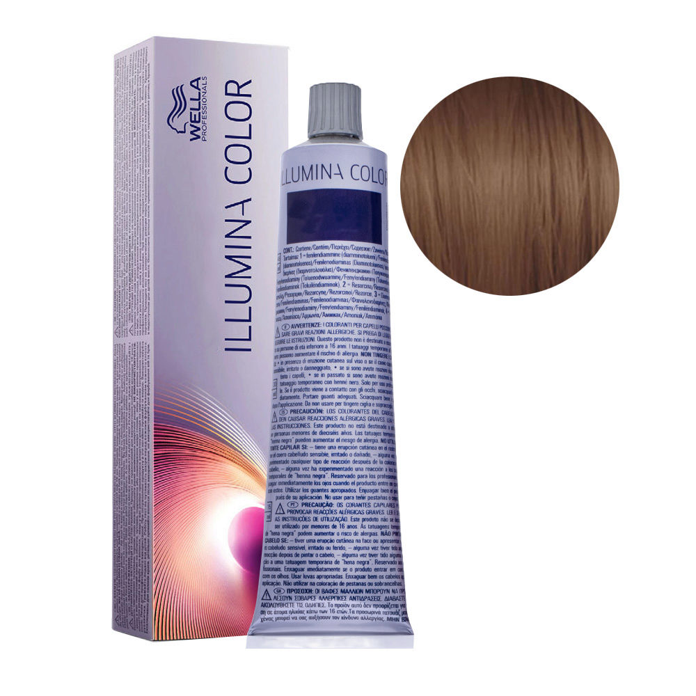 5/ Hellbraun Wella Illumina Color 60ml