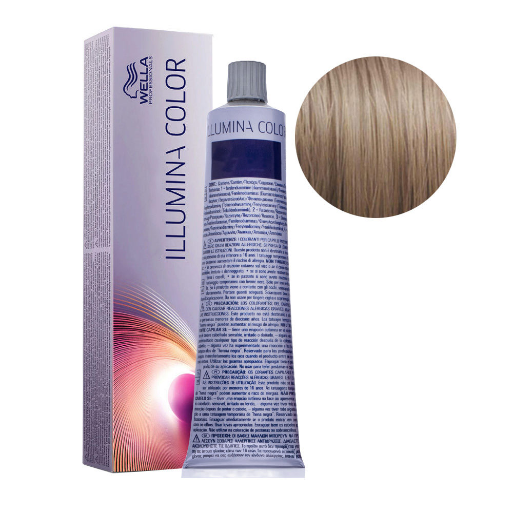 8/1 Hellblond asch Wella Illumina Color 60ml