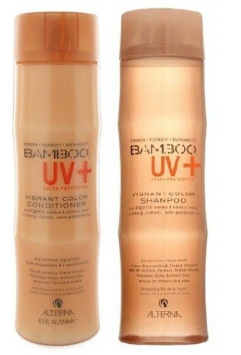 Alterna Bamboo UV  Color Protection Kit Shampoo 250ml Conditioner 250ml