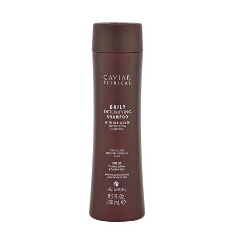 Alterna Caviar Clinical Daily detoxifying shampoo 250ml - verstärkendes Shampoo für Haarausfall-Problemen