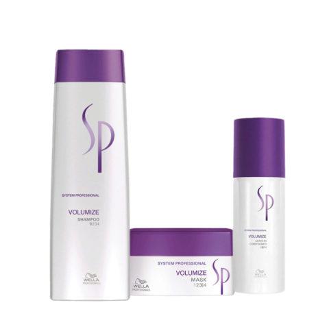 Wella SP Kit Volumize Shampoo 250 ml   Volumize Mask 200 ml   Volumize Leave-In Conditioner 150 ml