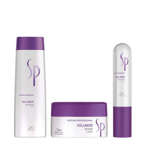 Wella System Professional Kit Volumize Shampoo 250 ml   Volumize Mask 200 ml   Volumize Emulsion 50 ml
