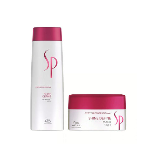 Wella System Professional Kit Shine Define Shampoo 250 ml   Shine Define Mask 200 ml