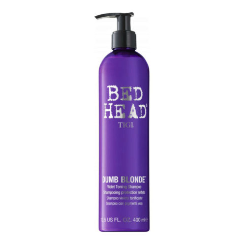Tigi Dumb Blonde Purple Toning Protection Shampoo 400ml