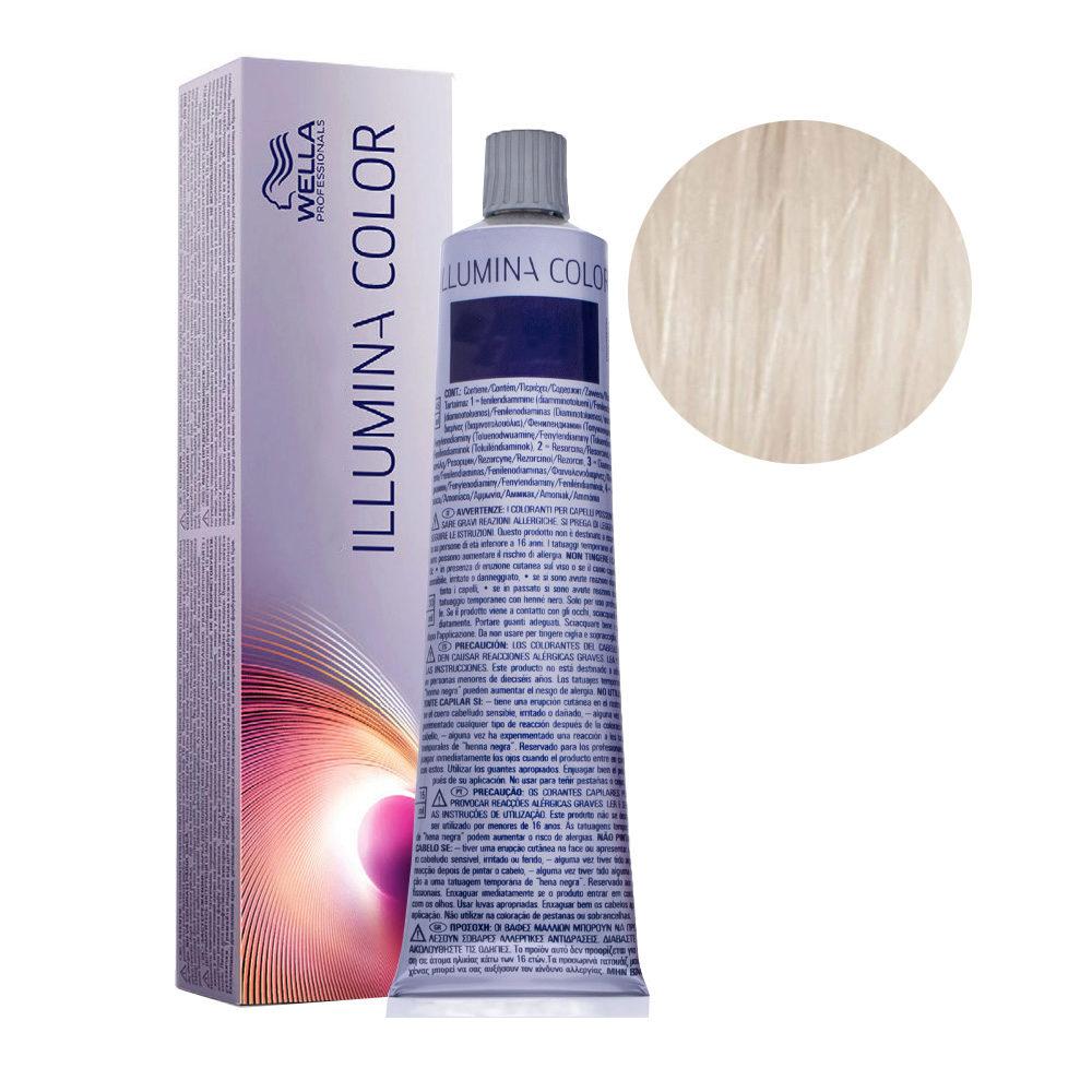 10/69 Hell-lichtblond violett-cendre Wella Illumina Color 60ml