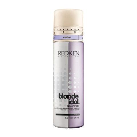 Redken Blonde Idol Custom-Tone Conditioner Violet for Cool Blondes 196ml