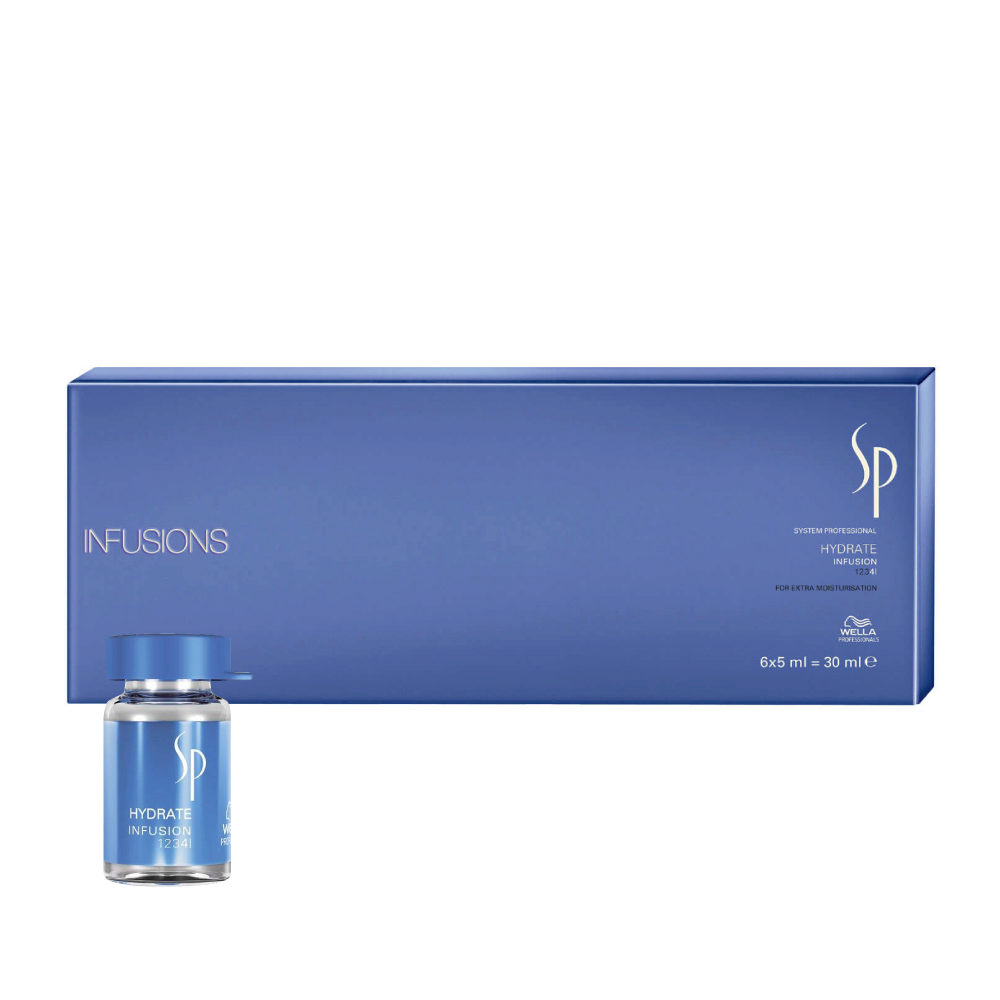 Wella SP Hydrate Infusion 6x5ml - ampullen