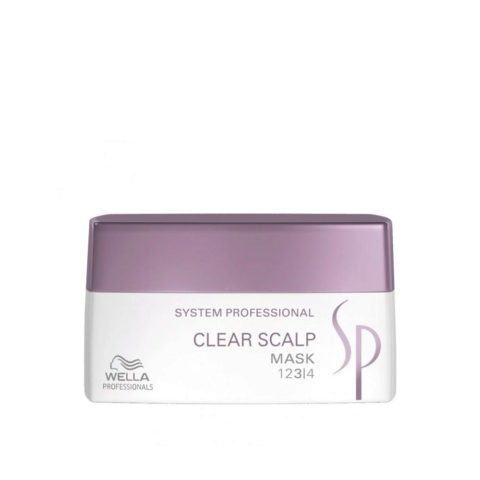 Wella System Professional Clear Scalp Mask 200ml - antischuppen mask