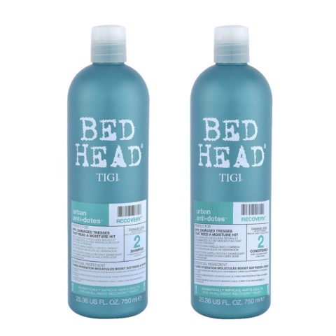 Tigi Urban Antidotes Kit Recovery Shampoo 750ml   Conditioner 750ml