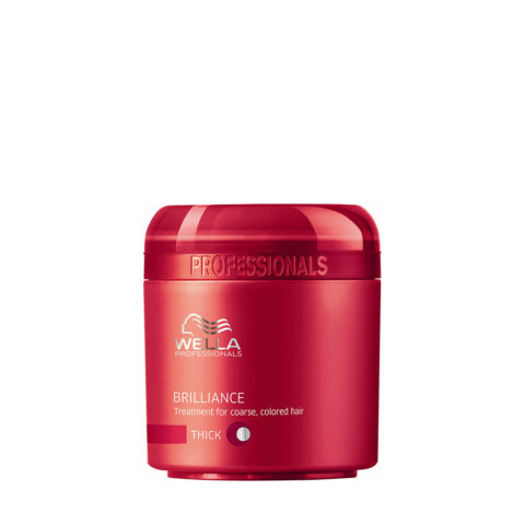 Wella Brilliance Mask 150ml - dick haar maske