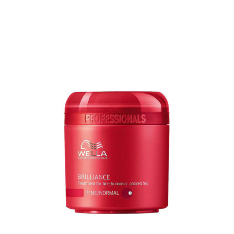 Wella Brilliance Mask 150ml - fein/normal haar maske
