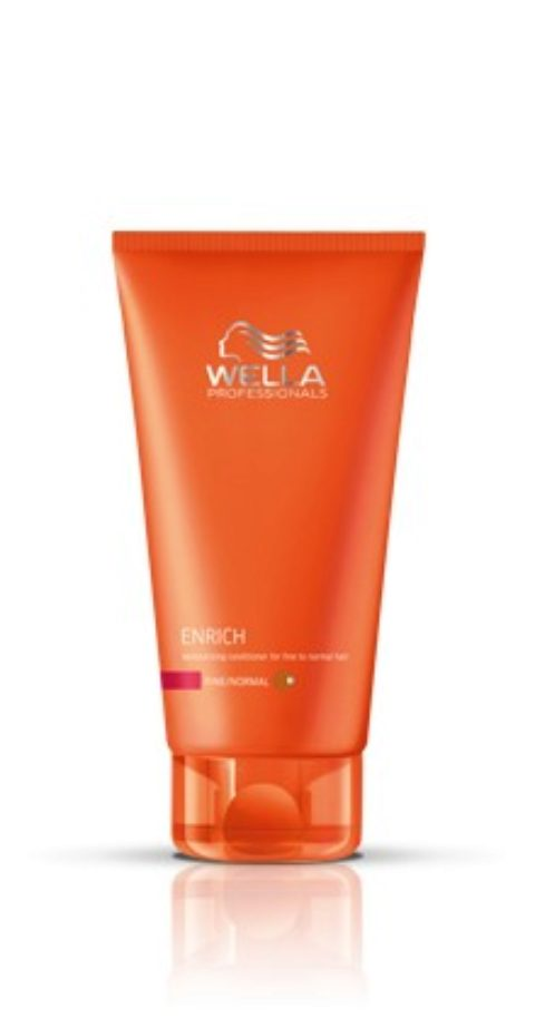 Wella Enrich Moisturizing Conditioner 200ml - fein/normal haar