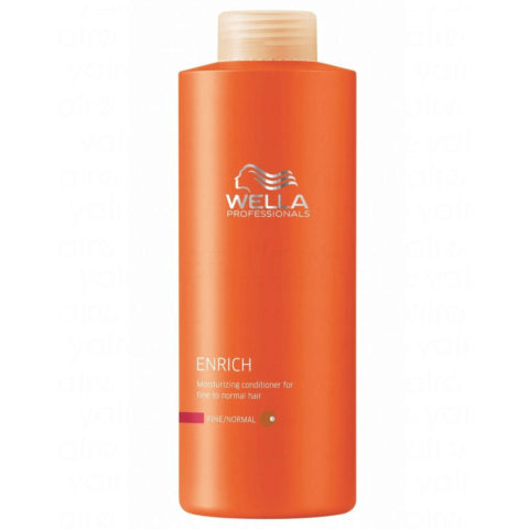 Wella Enrich Moisturizing Conditioner 1000ml - fein/normal haar