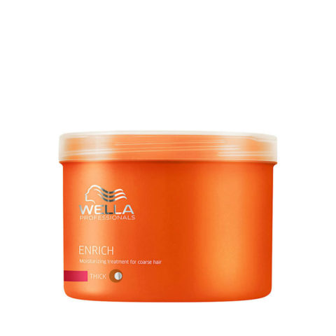 Wella Enrich Moisture mask 500ml - maske dick haar