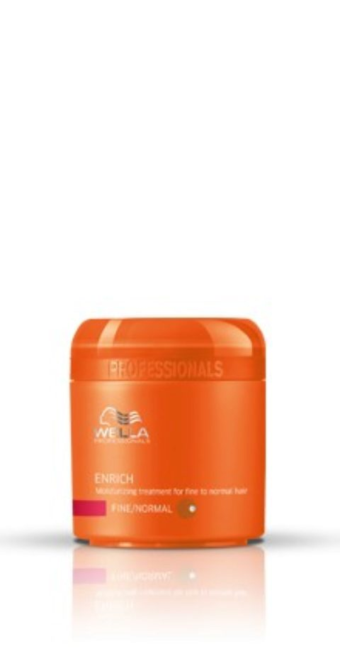 Wella Enrich Moisturizing Mask 150ml - fein/normal haar maske