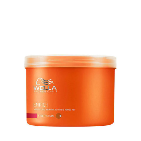 Wella Enrich Moisturizing Mask 500ml - fein/normal haar maske