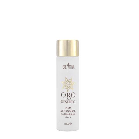 Erilia Oro del Deserto Argan Mask 200ml  - cremige Maske für trockenes und strapaziertes Haar
