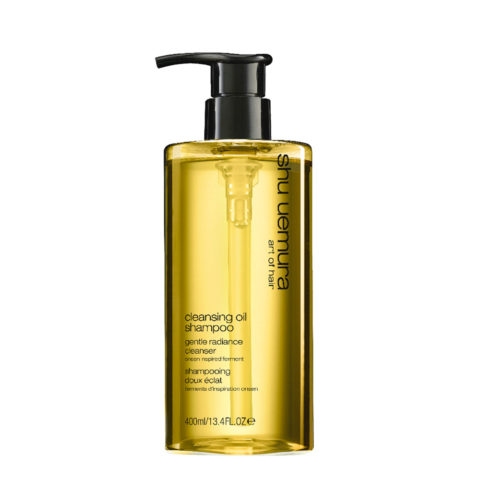 Shu Uemura Cleansing oil Shampoo Gentle Radiance 400ml - Mildes Shampoo