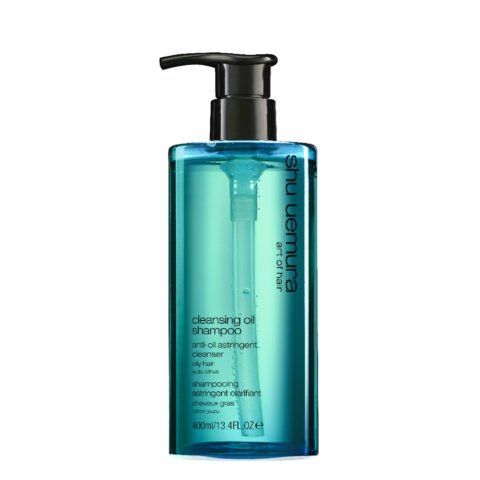 Shu Uemura Cleansing oil Shampoo Anti-oil astringent 400ml - Shampoo für fettiges Haar