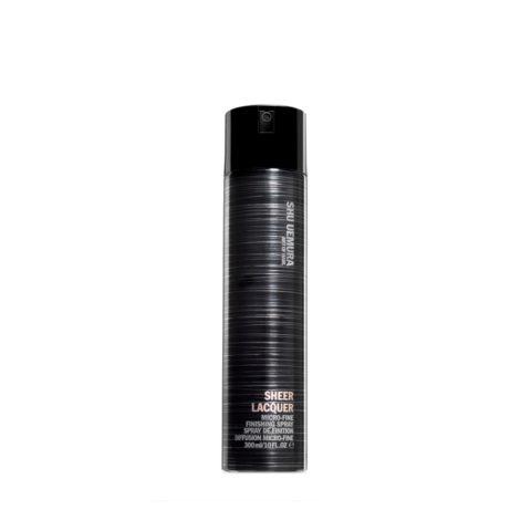 Shu Uemura Styling Sheer lacquer 300ml - licht, handwerk spray