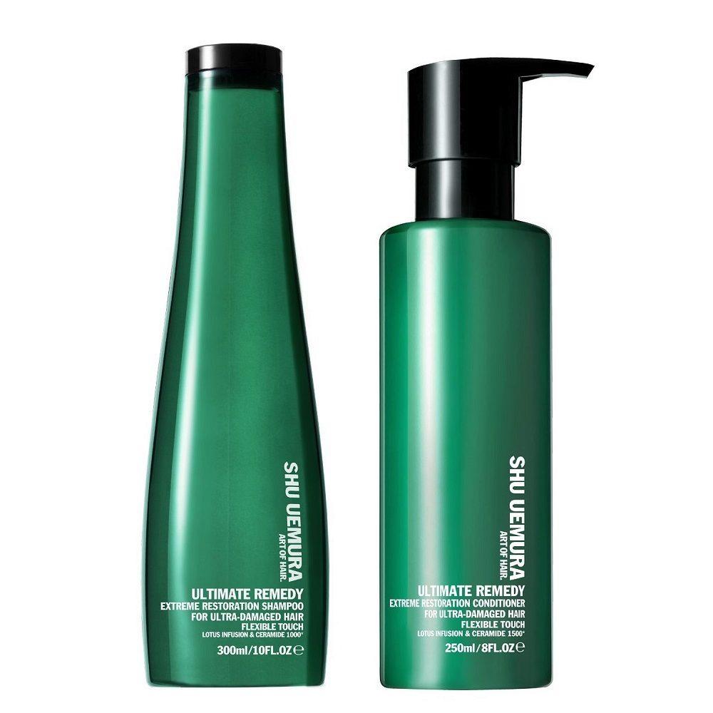 Shu Uemura Kit1 Ultimate remedy Shampoo 300ml e Conditioner 250ml