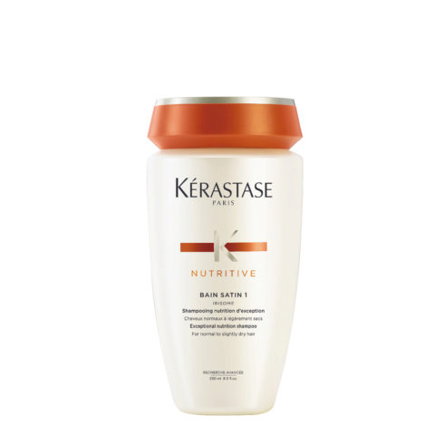 Kerastase Nutritive Bain satin 1, 250ml - Shampoo für normales oder trockenes Haar