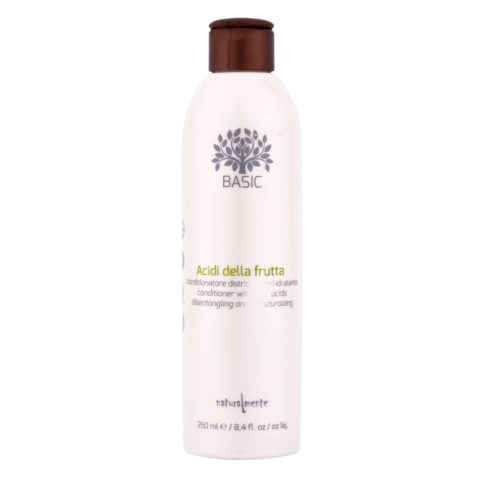 Naturalmente Basic Conditioner with fruit acids Detangling and moisturizing 250ml