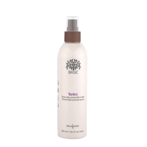 Naturalmente Basic Spray-Tonikum Kamille und Aloe Pflege-entwirrendespray 250ml