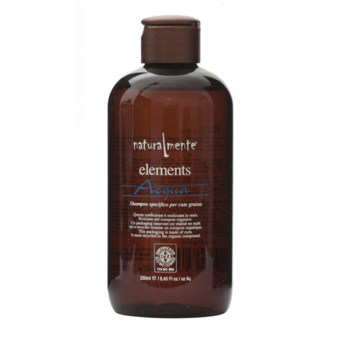 Naturalmente Elements Shampoo acqua fettige Kopfhaut 250ml