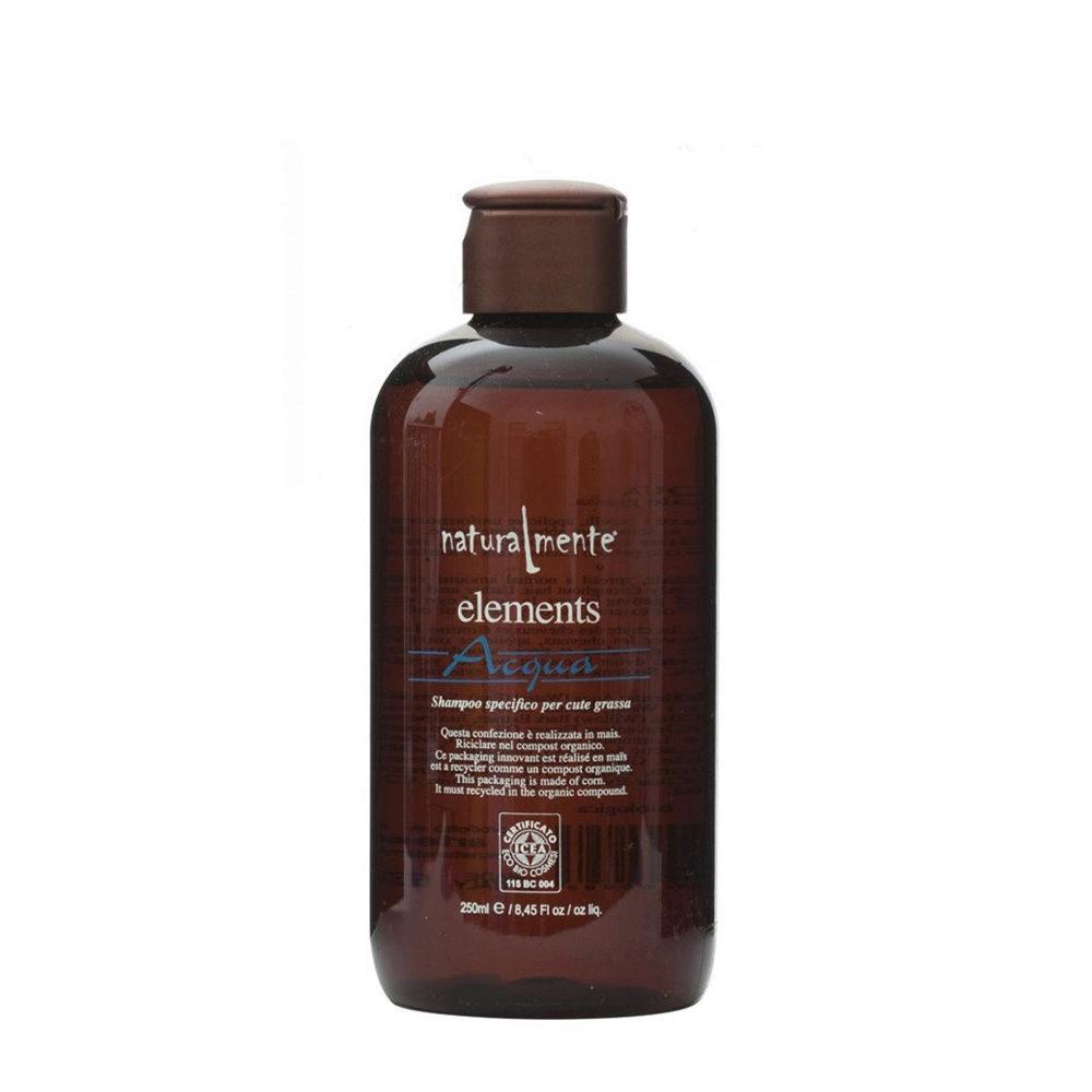 Naturalmente Elements Shampoo acqua fettige Kopfhaut 250ml