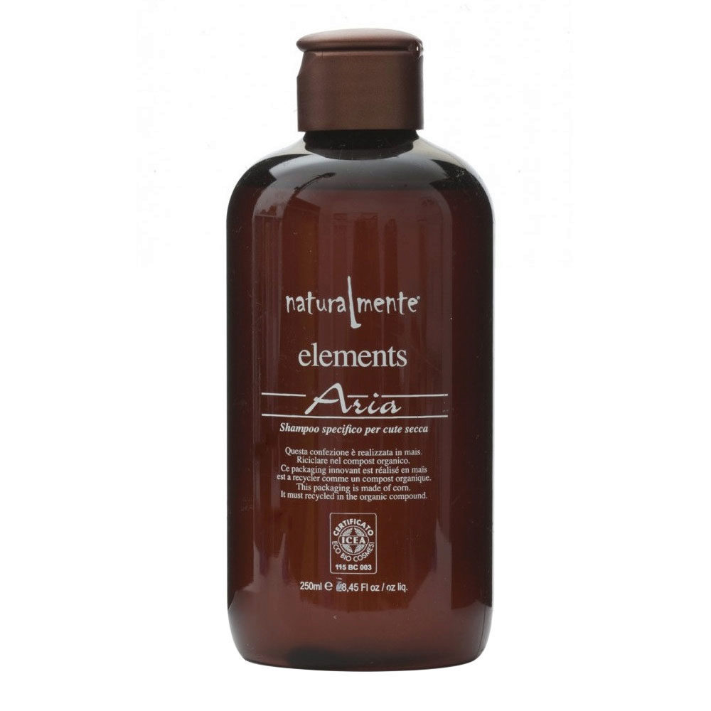 Naturalmente Elements Shampoo aria für trockenes Haar 250ml