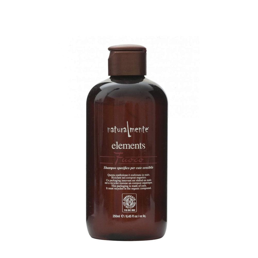 Naturalmente Elements Shampoo fuoco für empfindliche Haut 250ml