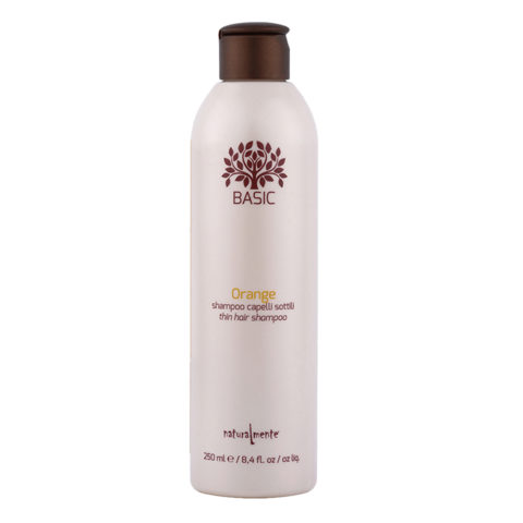 Naturalmente Basic Orange Shampoo Feines Haar 250ml