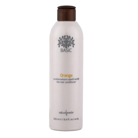 Naturalmente Basic Orange Conditioner für Feines Haar 250ml