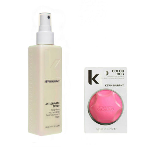 Kevin murphy Styling Kit Color bug pink 5gr   Anti gravity spray 150ml