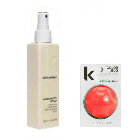 Kevin murphy Styling Kit Color bug orange 5gr   Anti gravity spray 150ml
