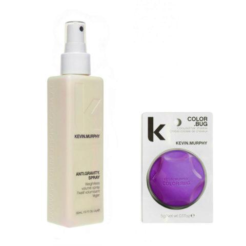 Kevin murphy Styling Kit Color bug purple 5gr   Anti gravity spray 150ml