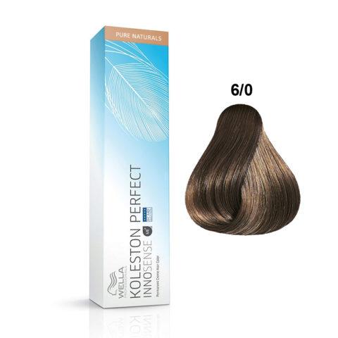 6/0 Dunkelblond Wella Koleston Perfect innosense Pure naturals