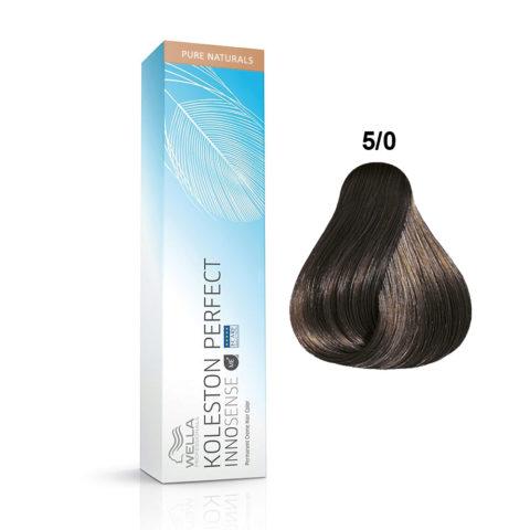 5/0 Hellbraun Wella Koleston Perfect innosense Pure naturals