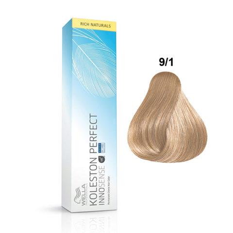 9/1 Lichtblond asch Wella Koleston Perfect innosense Rich naturals