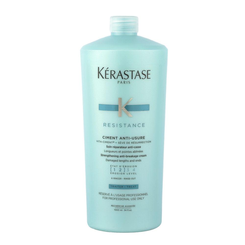 Kerastase Résistance Ciment Anti-Usure 1000ml - Conditioner für geschwächtes und geschädigtes Haar
