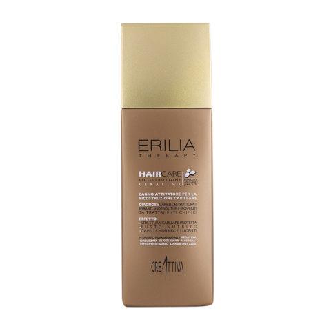 Erilia Haircare Keralink Bagno Attivatore Ricostruzione Capillare 250ml - schützendes Shampoo für beschädigtes Haar