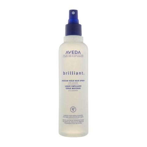 Aveda Styling Brilliant Medium hold hair spray 250ml
